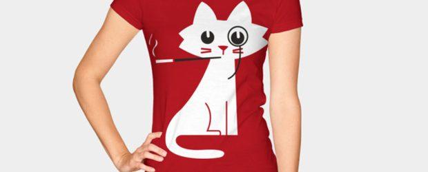 Classy Cat t-shirt design