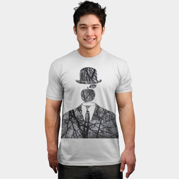 Magritte in the City v.2 (Autumn) t-shirt design
