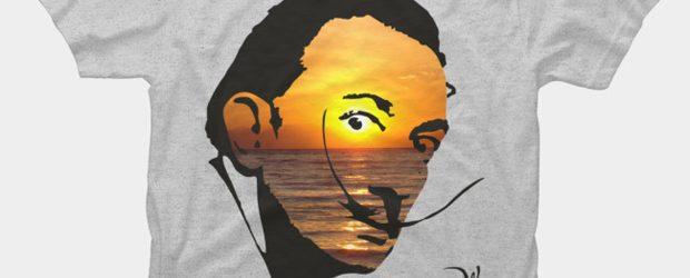 Salvador Dali v.2 t-shirt design