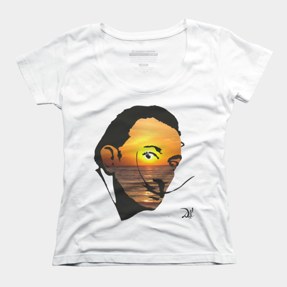 Salvador Dali v.2 t-shirt design