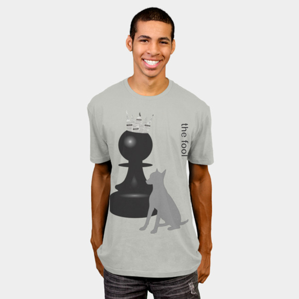 The Fool v.1 (Tarot card) t-shirt design