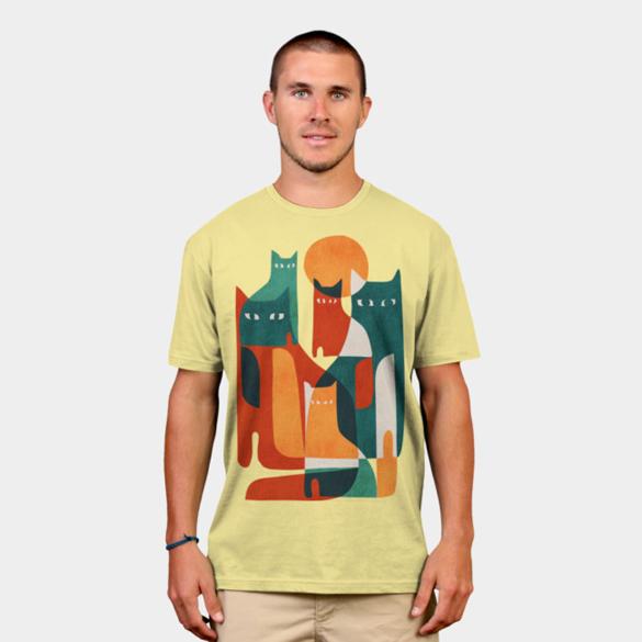 Cat Cat Cat, t-shirt design