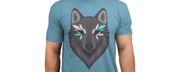 Dakotaz Wolf t-shirt design