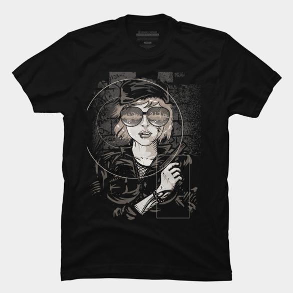 Dangerous Mind t-shirt design