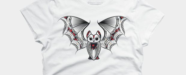 Fancy bat t-shirt design