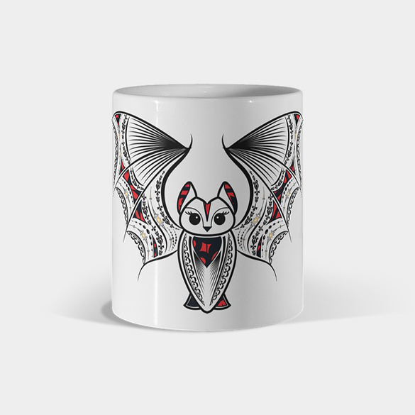 Fancy bat t-shirt design