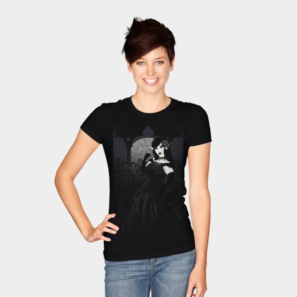 Gothic Victorian t-shirt design