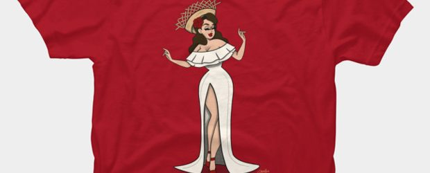 La Jibarita t-shirt design