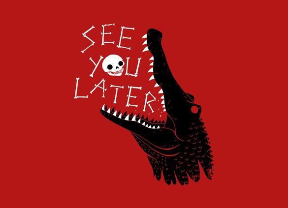 See You Later t-shirt design