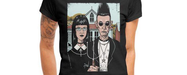 American Goth t-shirt design