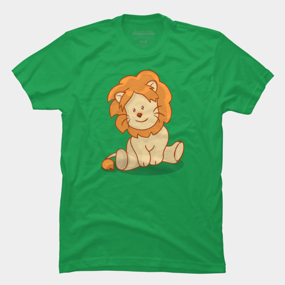 Lion t-shirt design