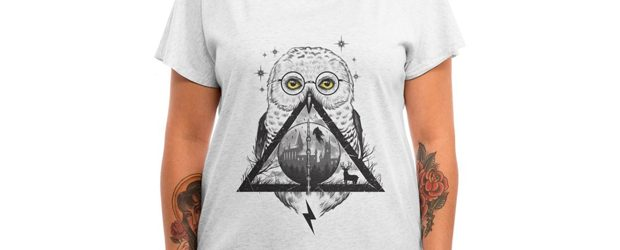 Owls and Wizardry t-shirt design