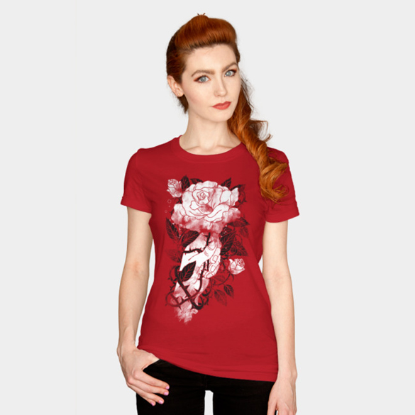 Rose & Thorn t-shirt design