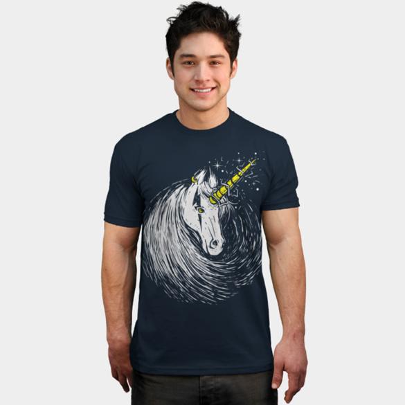 Scar Unicorn t-shirt design