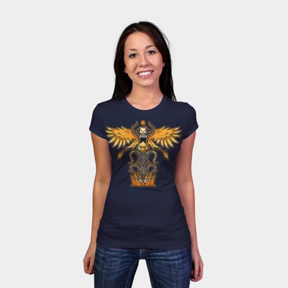 Summon Totem t-shirt design