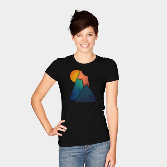 Sunset t-shirt design