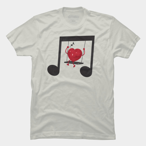 Swing a LOVE song t-shirt design