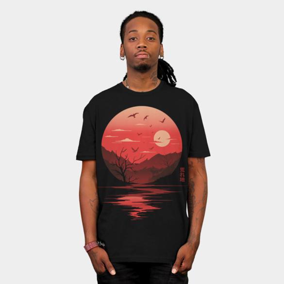 Wilderness t-shirt design
