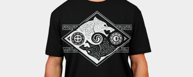 HATI AND SKOLL t-shirt design