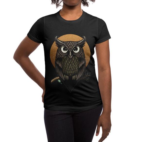Owl-Fullmoon t-shirt design