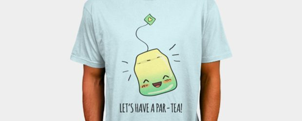 Par-TEA Time! t-shirt design