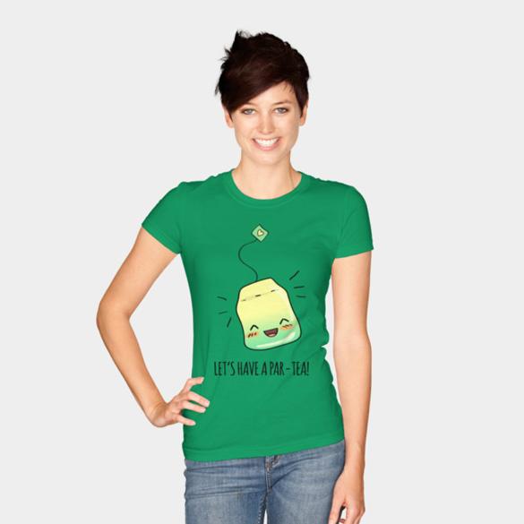Par-TEA Time! t-shirt design
