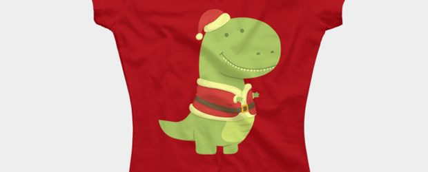 SanT-Rex t-shirt design