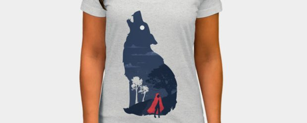 Walking in the dark t-shirt design