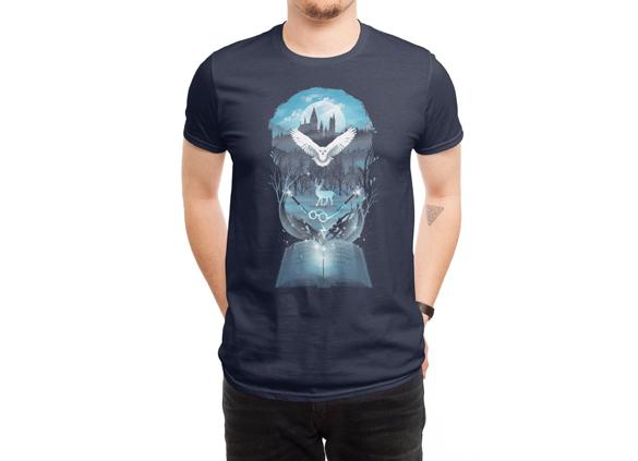 Book of Fantasy t-shirt design