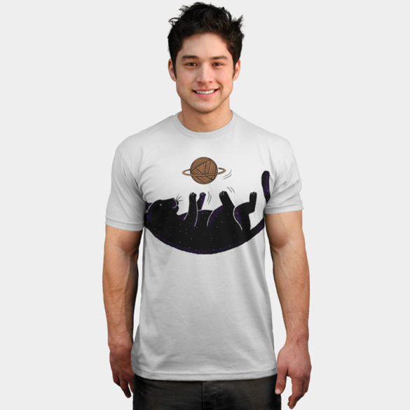 Cat Universe t-shirt design