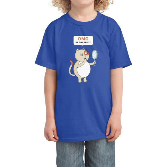 Cat purrfect t-shirt design