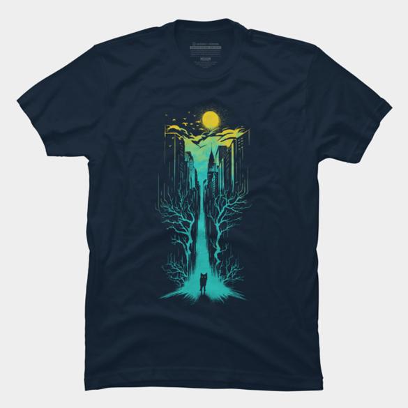 Night Watcher t-shirt design