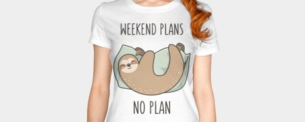 Weekend Plans t-shirt design