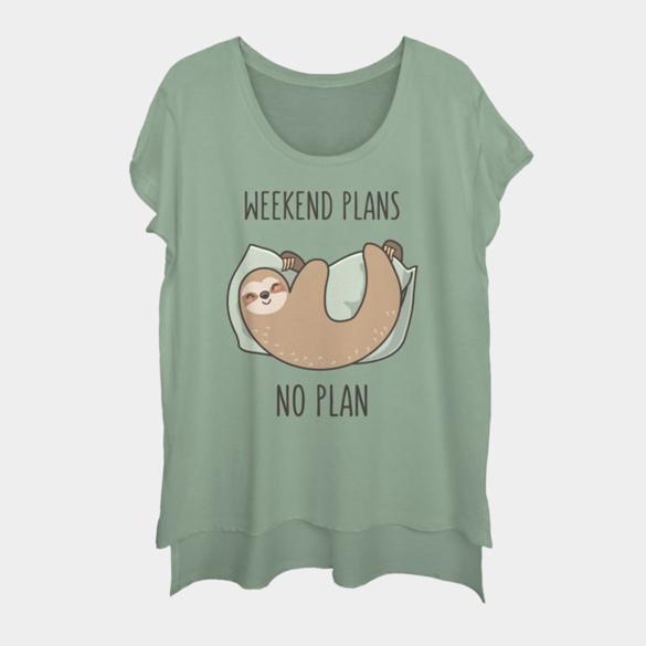 Weekend Plans t-shirt design
