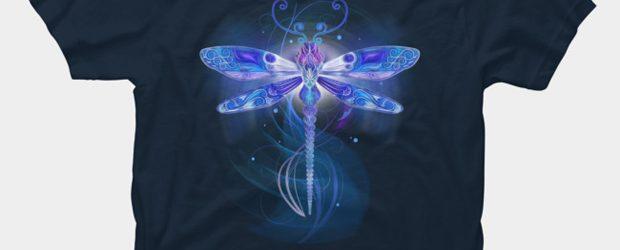 Dragonfly Fantasy t-shirt design