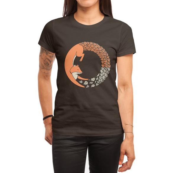 Fox Circle t-shirt design