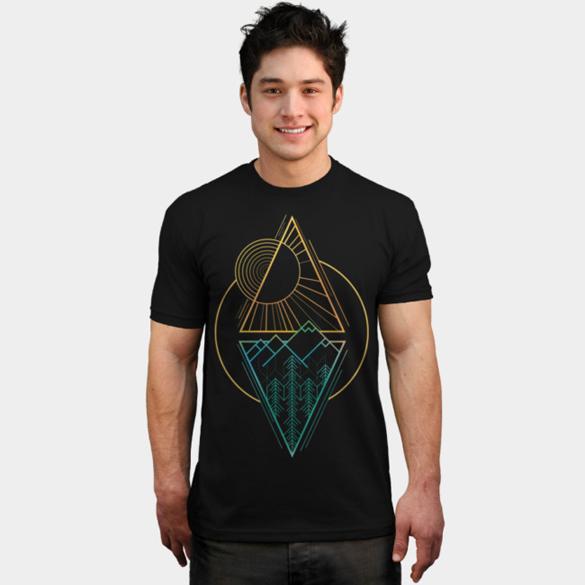 Go Nature t-shirt design