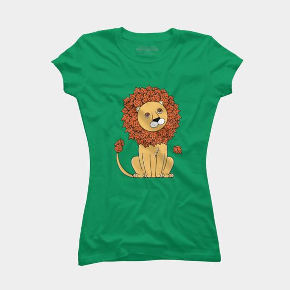 Natural Lion t-shirt design