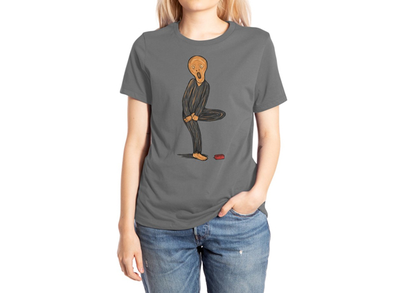 The Scream Of Pain t-shirt design