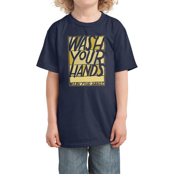 Wash Your Hands t-shirt design