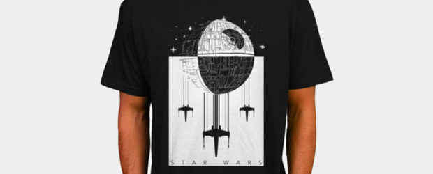 Death Star Escape t-shirt design