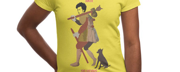 R.I.P. Rockstars Sid Vicious t-shirt design