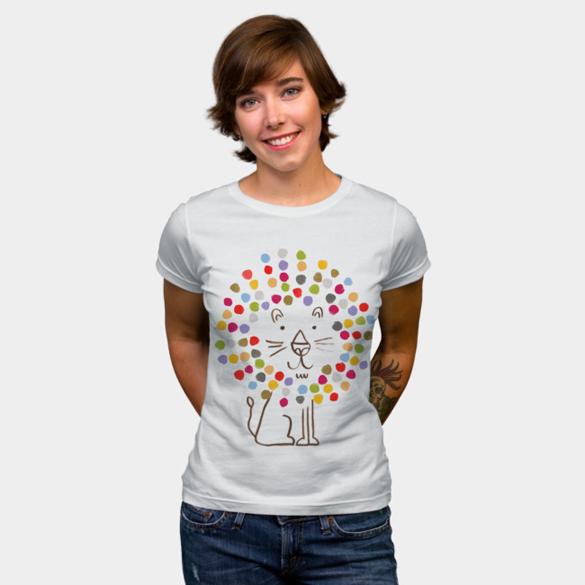 Sunshine Lion t-shirt design
