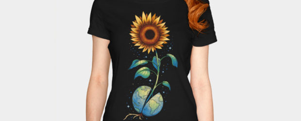 The Sunflower t-shirt design