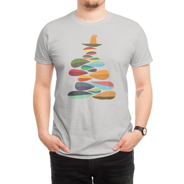 Bird nest t-shirt design