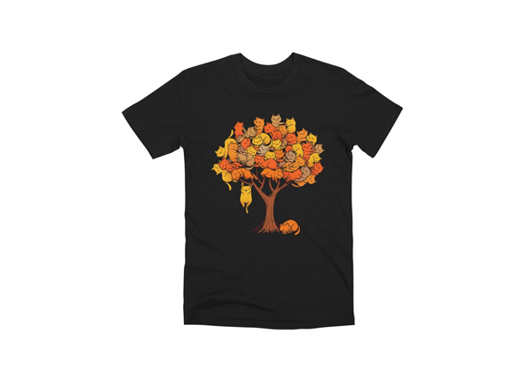 Cat Tree t-shirt design
