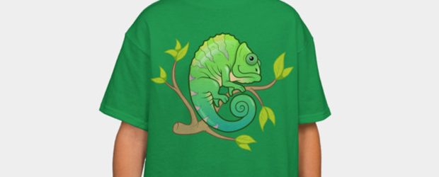 Chameleon t-shirt design