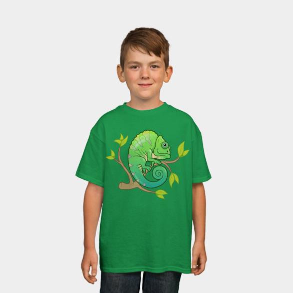 Chameleon t-shirt design