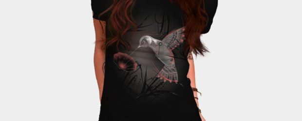 Cyborg nature t-shirt design