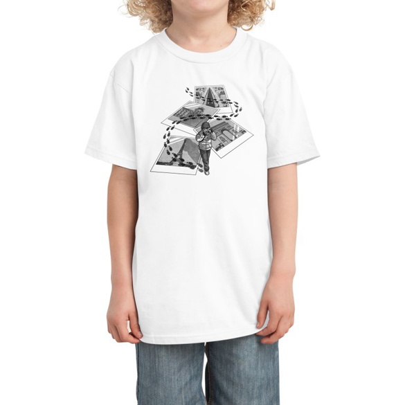 I Love Paris Tourist t-shirt design